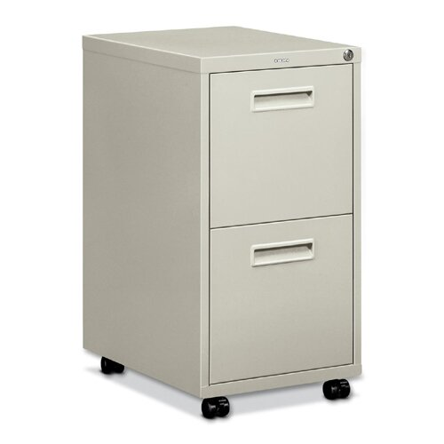 Basyx by HON Embark Series 2-Drawer Mobile File Pedestal File