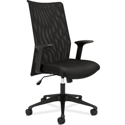 Basyx by HON Highback Mesh Task Chair with Arms