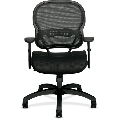 Basyx by HON VL700 Series Midback Mesh Manager Chair with Arms