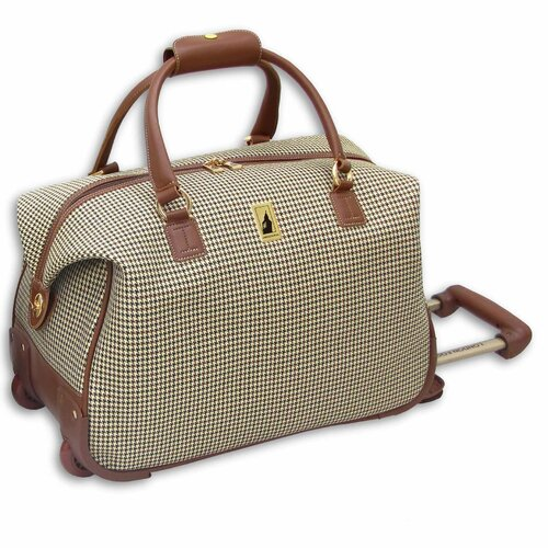 "London Fog Chelsea Lites 20"" Wheeled Club Bag"