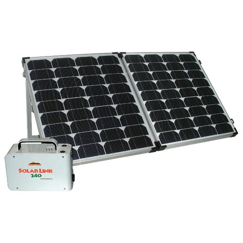Sierra Wave Solar Link 240 Power Center with Solar Collector Set