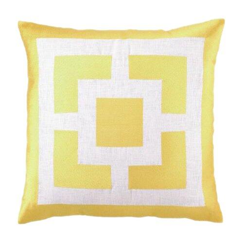 Decorative Pillows Trina Turk : Trina Turk Residential Palm Springs Blocks Linen Throw Pillow & Reviews Wayfair