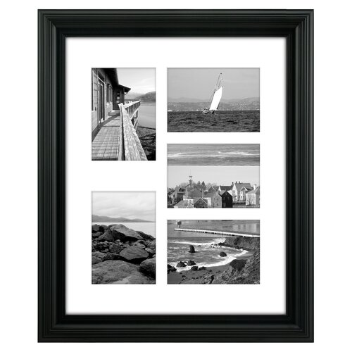 Malden Portrait 5-Opening Picture Frame