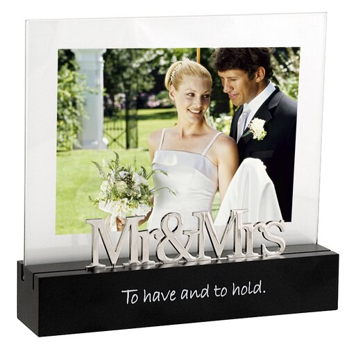 Desktop Expressions Mr. and Mrs. Picture Frame