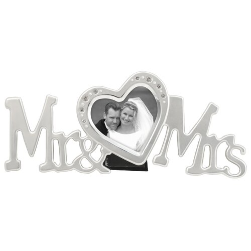 Malden Mr and Mrs Picture Frame