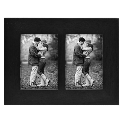 Malden Split Double Linear Picture Frame