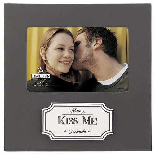 Malden Always Kiss Me Goodnight Picture Frame