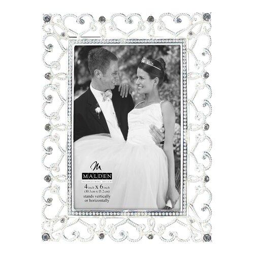 Malden Diamond Hearts Picture Frame