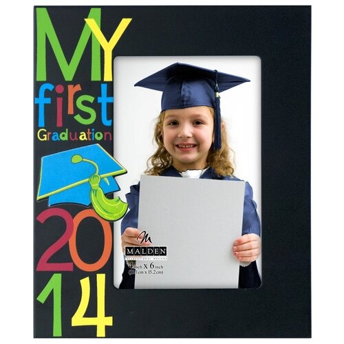 My First Graduation 2014 Picture Frame