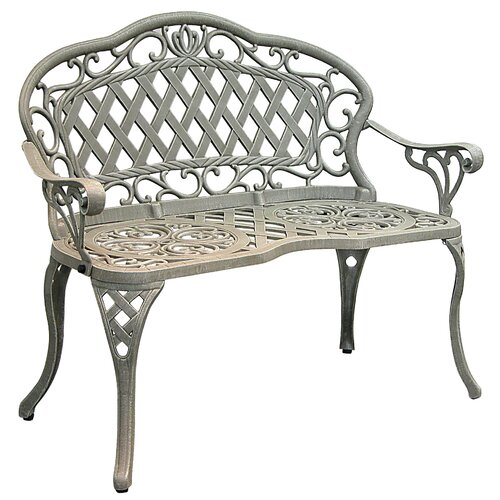 Innova Hearth and Home Regis Promo Cast Iron/Aluminum Garden Bench