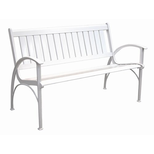 Innova Hearth and Home Contempo Cast Aluminum Park Bench