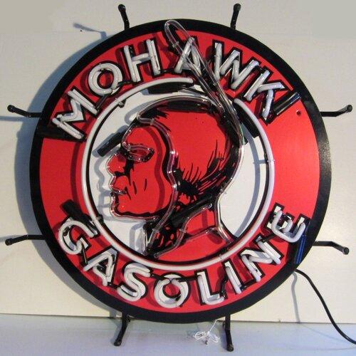 Neonetics Mohawk Gasoline Neon Sign