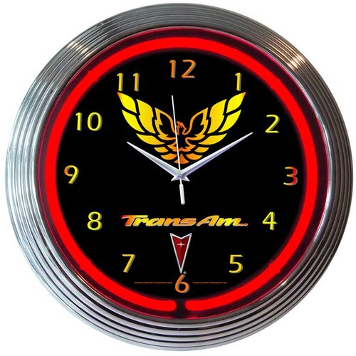 "Neonetics 15"" Trans Am Wall Clock"