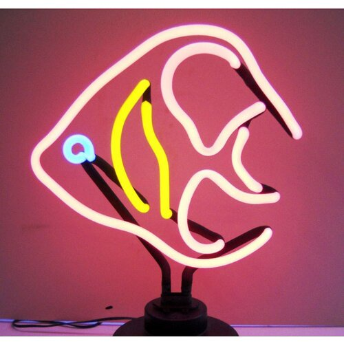 Neonetics Angelfish Neon Sculpture
