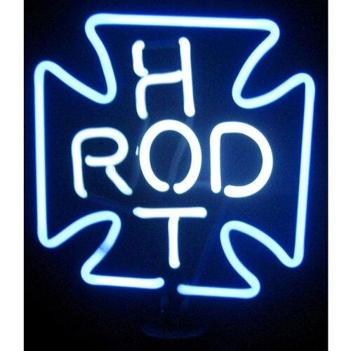 Neonetics Hot Rod Cross Neon Sculpture