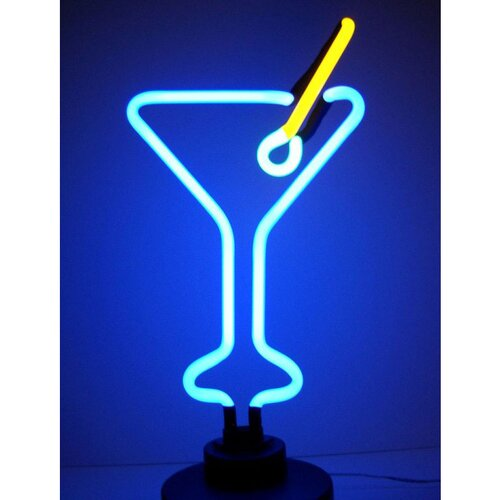 Neonetics Business Signs Martini Glass Neon Sign