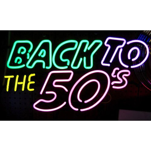 Neonetics Back To The 50's Neon Sign