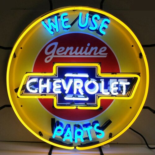 Neonetics Chevrolet Neon Sign