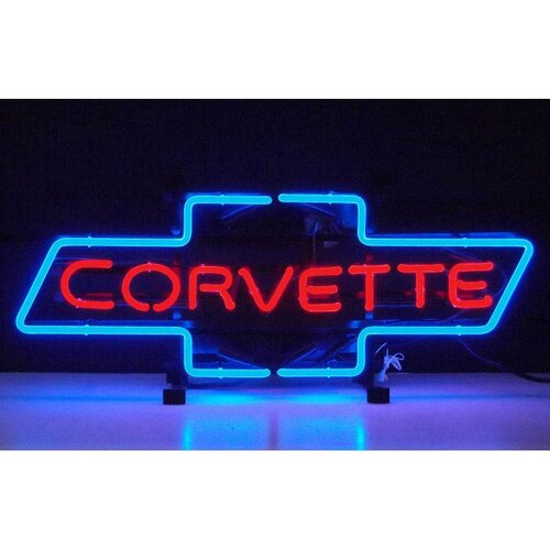 Neonetics Cars and Motorcycles Corvette Bowtie Neon Sign