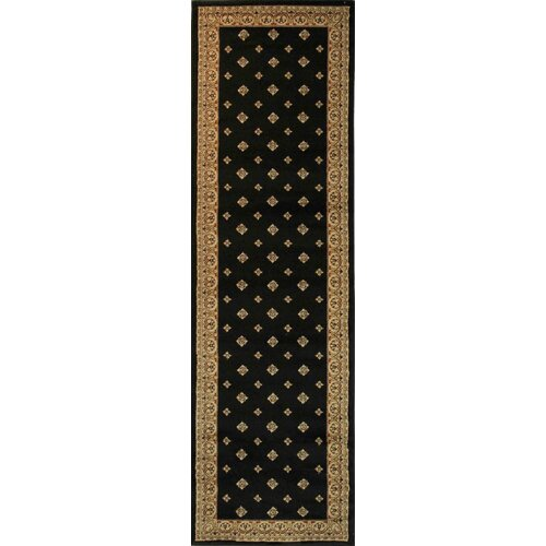 Barclay Black Hudson Terrace Traditional Rug