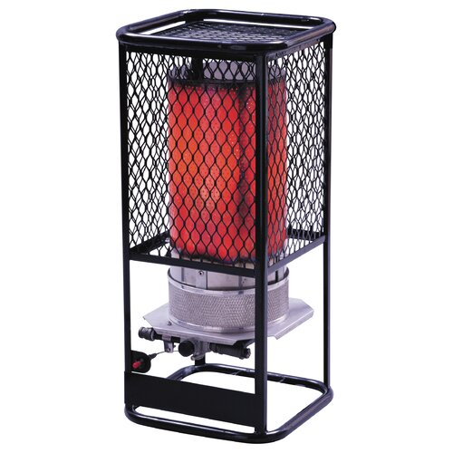 Heatstar 125,000 BTU Radiant Tank Top Liquid Propane Space Heater