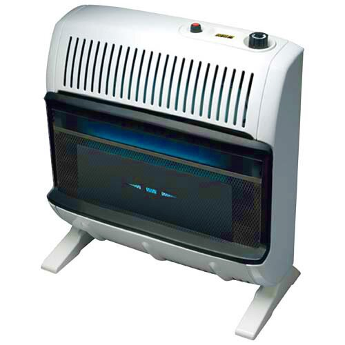 Mr. Heater Garage Vent Free 30,000 BTU Radiant Utility Natural Gas Space Heater
