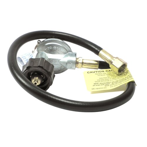 """Mr. Heater 22"""" Replacement Propane BBQ Hose and Regulator Assembly"""