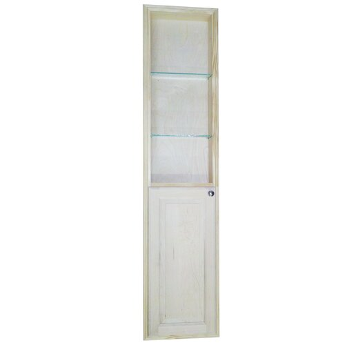 """WG Wood Products Baldwin 68"""" Recessed Kitchen Pantry"""