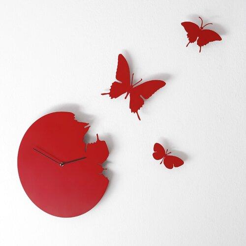 Diamantini & Domeniconi Butterfly Wall Clock