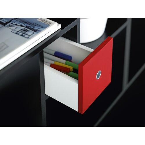 """Tvilum Blink Cube 30.31"""" Bookcase"""