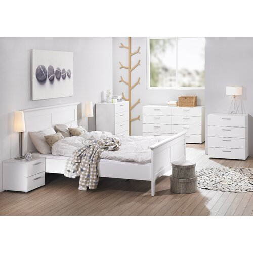Tvilum Austin Bedroom 2 Drawer Nightstand