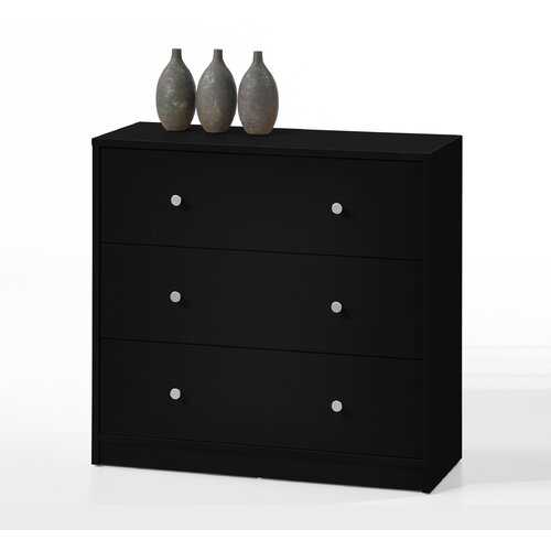 Tvilum Portland 3 Drawer Chest
