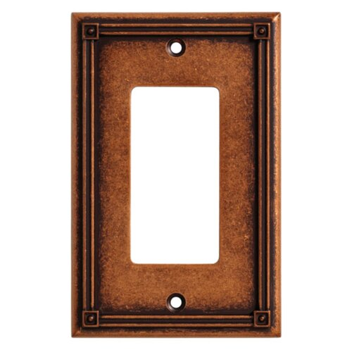 Brainerd Ruston Single Decorator Wall Plate