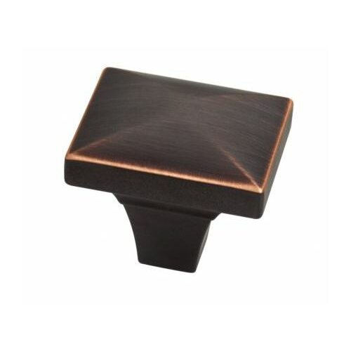 "Liberty Hardware Individuals Beverly 1.75"" Square Knob"