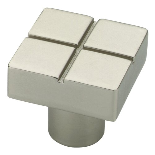 "Liberty Hardware Urban Metals 1.18"" Square Knob"