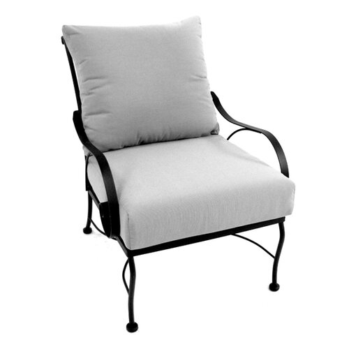 Meadowcraft Monticello Deep Seating Chair with Cushion