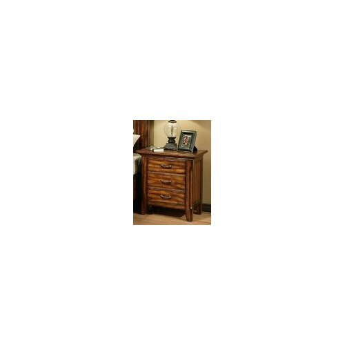 AYCA Furniture Marissa County 3 Drawer Nightstand
