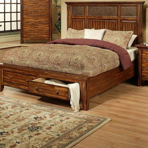 Marissa County Storage Panel Bed