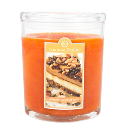 Colonial Candle Pumpkin Coconut Torte Jar Candle