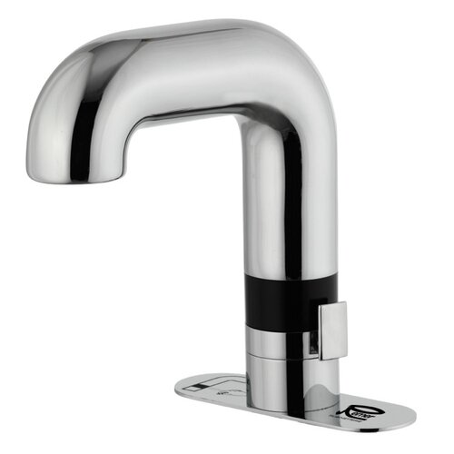 Deck Mounted Bathroom Sink Faucet with Sensor Control
