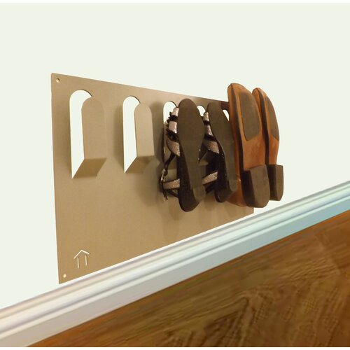 The Metal House Wall Mounted Shoe Rack