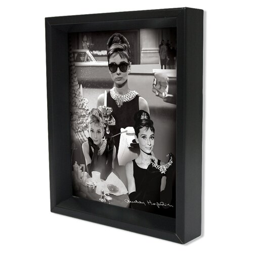 Ace Framing Audrey Hepburn Memorabilia Shadow Box