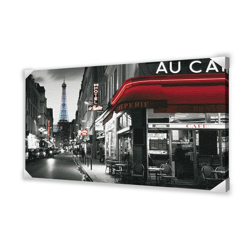 Ace Framing Rue Parisienne Photographic Print on Canvas