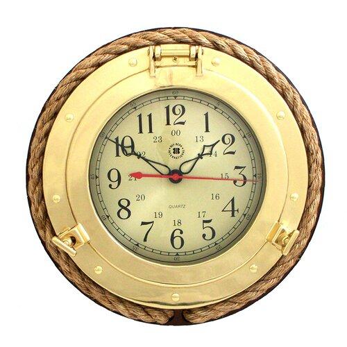 "Bey-Berk 13"" Porthole Wall Clock"