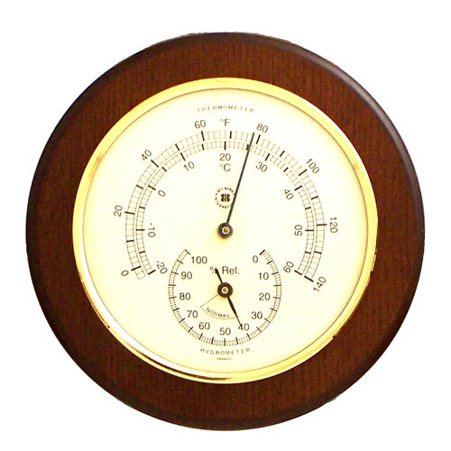 Bey-Berk Thermometer and Hygrometer