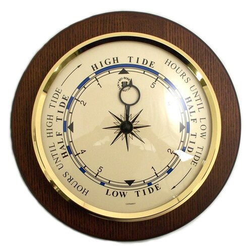 "Bey-Berk 9"" Tide Wall Clock"