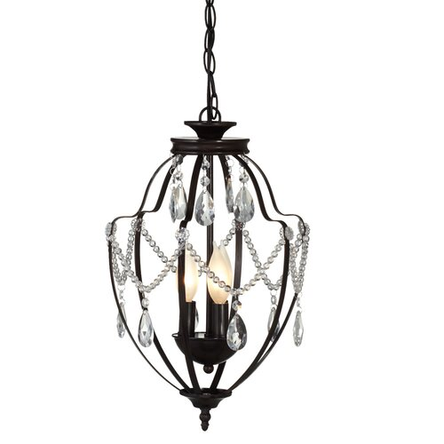 Antique Lantern Mini Chandelier