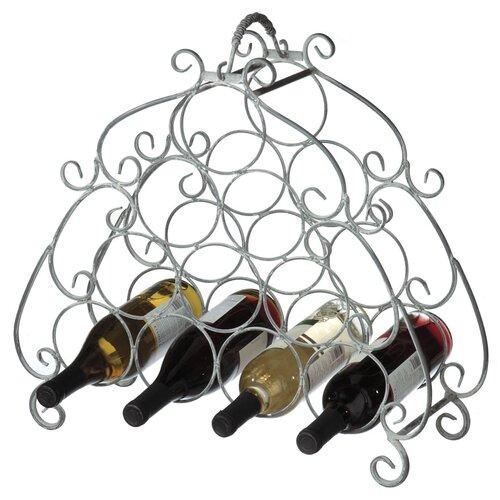 CBK Scroll 10 Bottle Wine Rack