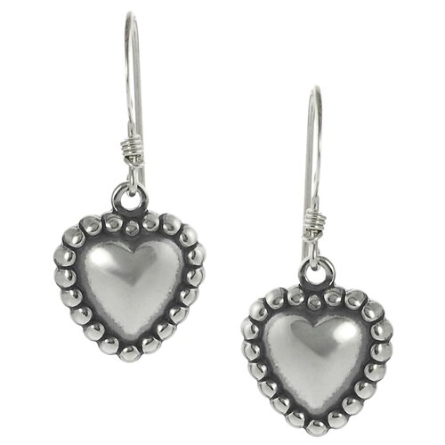 Children's Heart Drop Earrings