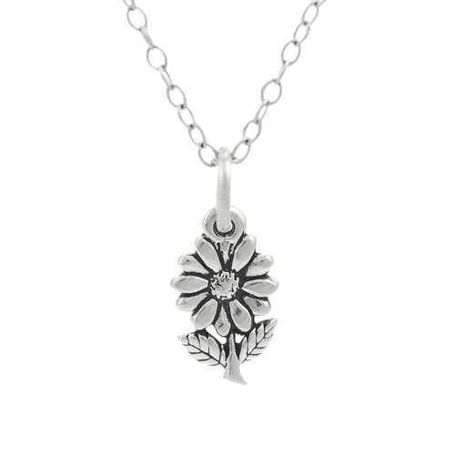 Children's Sterling Silver Flower Necklace